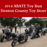 2014 ABATE TOY RUN PHOTOS   DENTON COUNTY TOY STORE