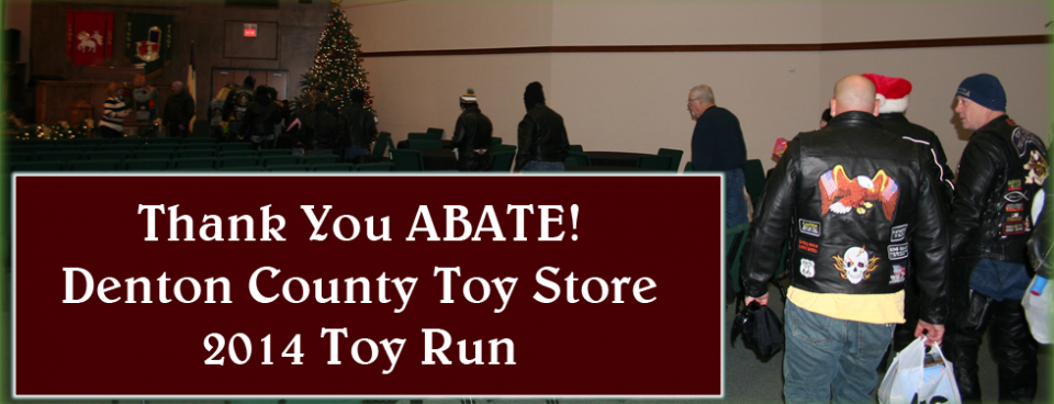 2014 Toy Run – Thank You ABATE!