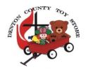 Denton County Toy Store Dates for 2018!